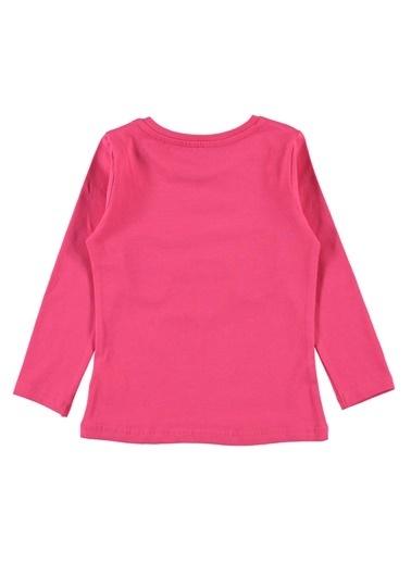 Cvl Kız Çocuk Sweatshirt Fuşya